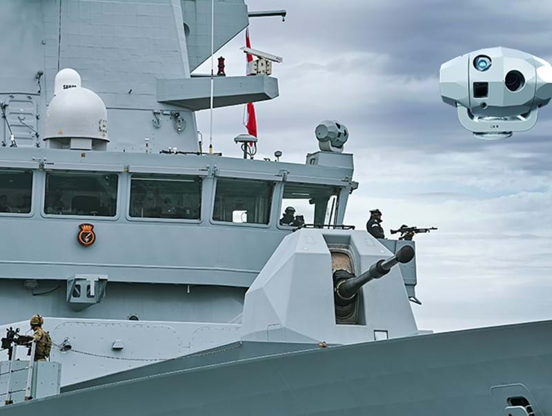 Ultra continues support of electro-optical tracking systems for the UK Royal Navy Type 45 Destroyer