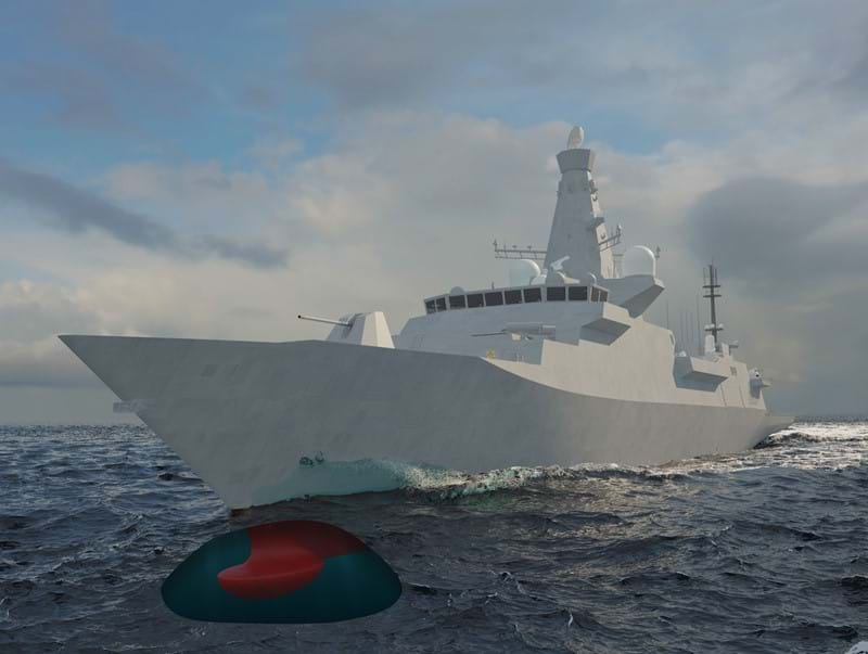 Ultra Electronics Command & Sonar Systems Awarded Contract to Supply Sonar Type 2150 to the First Three of Eight Planned UK Royal Navy Type 26 Frigates