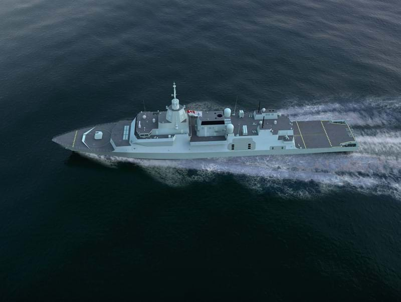 Ultra awarded Canadian Surface Combatant subcontract to provide Variable Depth Sonar
